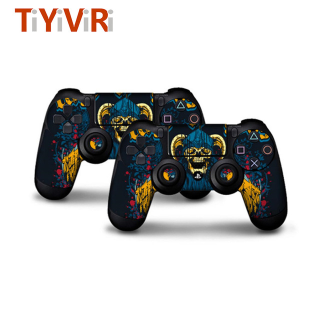 2 pcs Stickers for PS4 Skin Controller Skin for Play Station 4 Stickers ps4 joker PS 4 Sticker Anime Controller Skin God of War  5