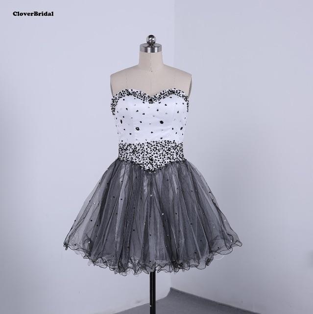 f01c2677e Vestidos de coctel en blanco y negro – Vestidos elegantes 2019