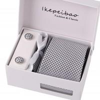 Free Shipping Wholesale Ties For Men Polyester Dress Set Wide Woven Necktie Mans Tie Neckties Ties