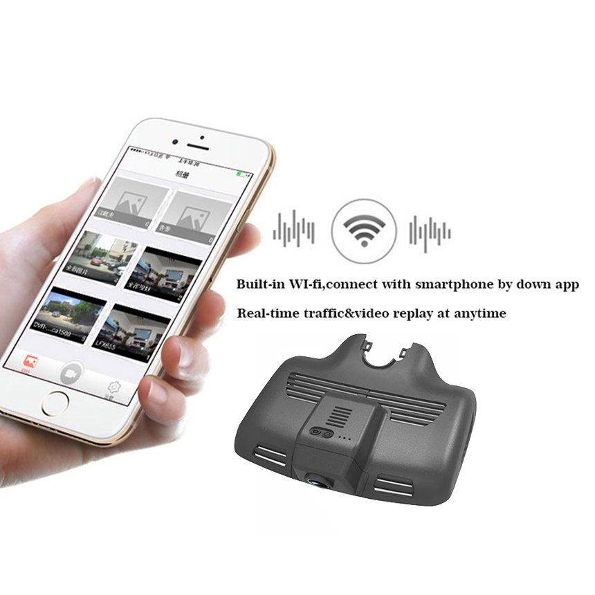 LiisLee For Benz C-Class W204 W205 2010-2016 Car Driving Video Recorder DVR Registrator Mini Wifi Camera Dash Cam