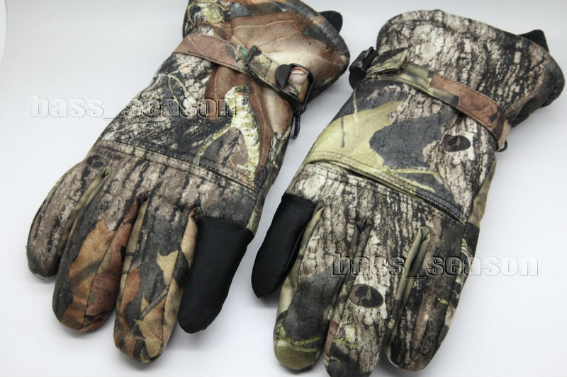 Realtree Hunting Gloves Waterproof Windproof Breathable Insulated Keep Warm Free Shipping