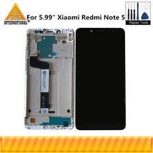 """الأصلي Axisinternational 5.99 """"ل شاومي Redmi نوت 5 Redmi نوت 5 برو شاشة الكريستال السائل شاشة + محول رقمي يعمل باللمس مع الإطار"""