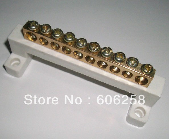 Ground Wire row / zero line row / Terminals Copper Terminal Block ...