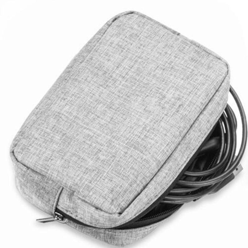 Organizer System Kit Aufbewahrungstasche Digitale Geräte USB-Kabel Kopfhörer Stift Reisetasche Münze SD-Kartenhalter A40