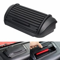 New Black ABS Car Dashboard Console Storage Box Holder Ticket Card Sundries Case For Jeep Wrangler & Unlimited JK 2011 Up