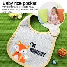 Adjustable Baby BibsWaterproof Lunch Feeding Bibs Cartoon Cloth Children Apron Babador Bandana