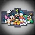 5 шт. 3D полный квадратный Diy Алмазная картина вышивка крестиком узор Алмазная вышивка мультфильм мышь утка украшение комнаты подарок