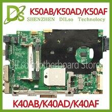 KEFU K40AB font b motherboard b font for asus laptop font b motherboard b font K40AB