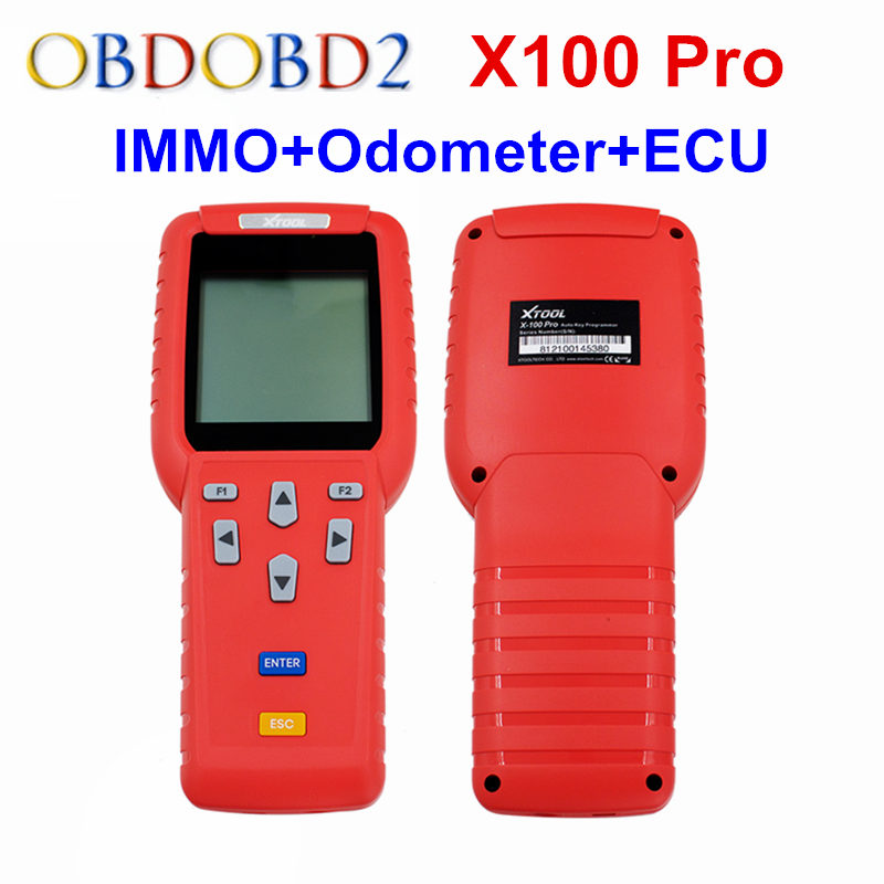 Xtool x 100 x100 pro auto key programmer (c+d+e) including eeprom adapter for immo+odometer+obd+eepro