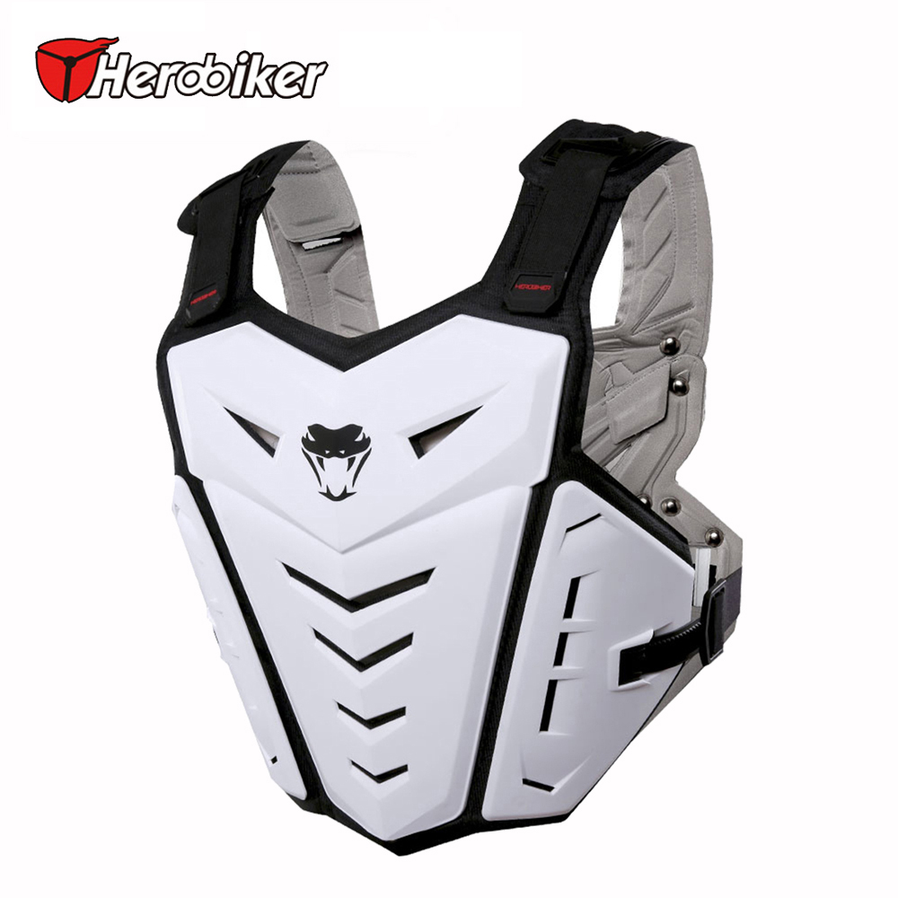 HEROBIKER Back Support Body Armor Riding Cycling Climbing Outdoor Sports Vest Chest Protector Off-Road Dirt Bike Protective Gear
