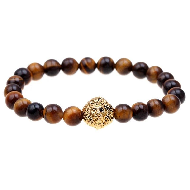2015 Blue bead bracelet buddha...