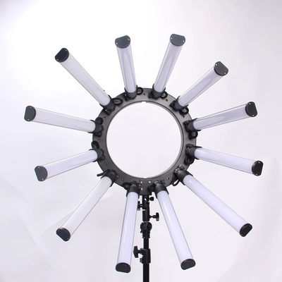 TL 1800S Photographic Lighting Dimmable 3200 5600K 12 Tubes 672 Leds Camera Photo Studio Phone Photography