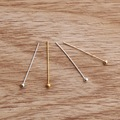 Free Shipping 500Pcs/lot (4 Colors) Copper Ball Head Pins Jewelry Findings 20x0.5mm