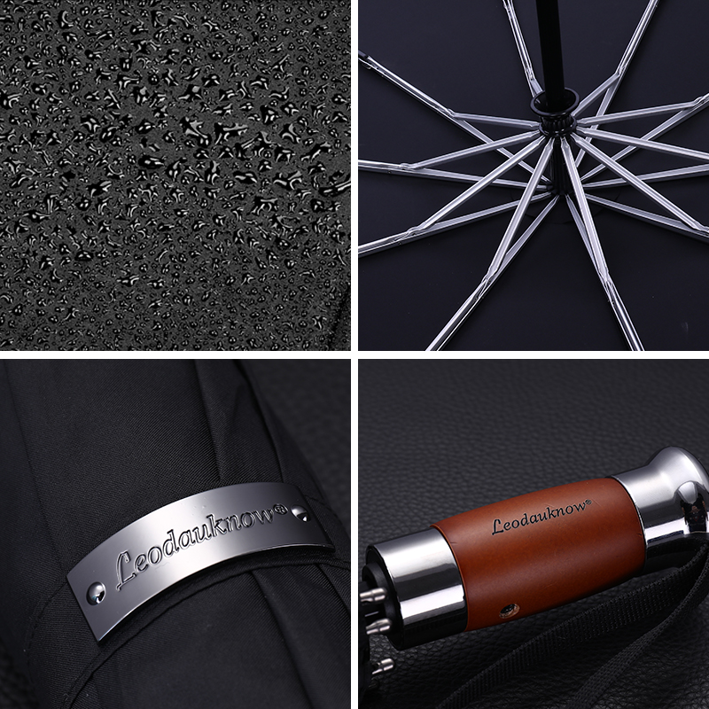 Image 5 - Genuine Brand Large Automatic Umbrella 1.25 meter Business Men 
