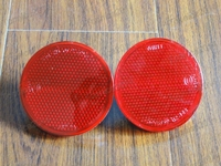 2Pcs OEM New Backup Tail Rear Bumper Lamp Reflector Stop Brake Lights Fog Lamps For Toyota
