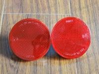 2Pcs OEM New Backup Tail Rear Bumper Lamp Reflector Stop Brake Lights Fog Lamps For Toyota