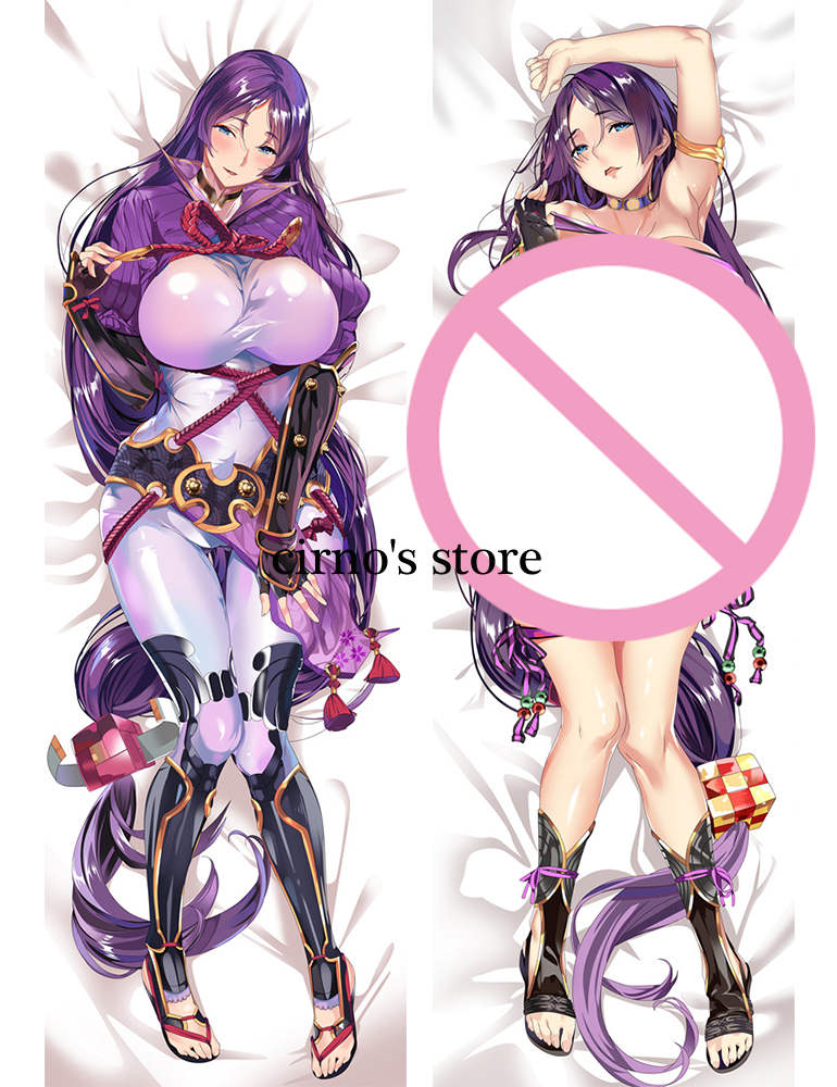 fate/grand order FGO anime Characters caster (fate/extra) pillow cover jeanne saber alter & minamoto no raikou body Pillowcase