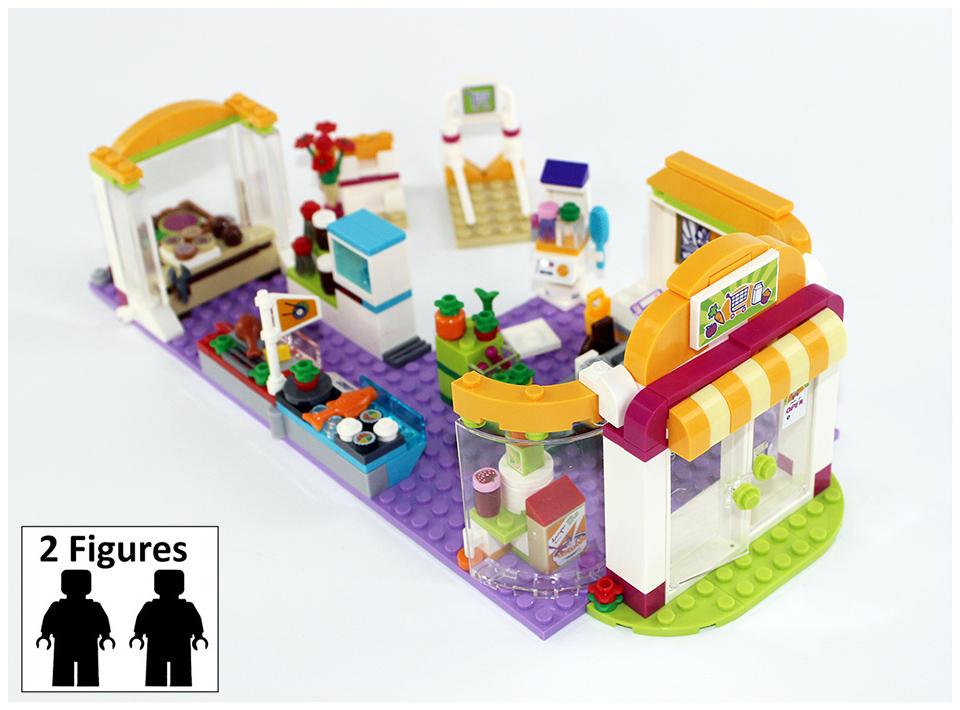 BELA 10494 Building Block Compatible Legoes Friends Heartlake Supermarket  41118 Model Figure Educational Toy For Children-in Blocks from Toys &  Hobbies on ...
