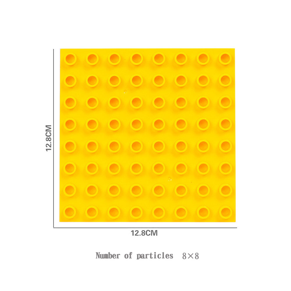 Big Size Base Plate Large Particle Building Blocks Accessories Compatible with Duploes toys For Children DIY Gifts colorful sets in Blocks from Toys Hobbies