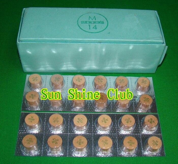 Free shipping 10pcs lot 14MM S M Q pigskin billiard cue tips Moori cue tips pool