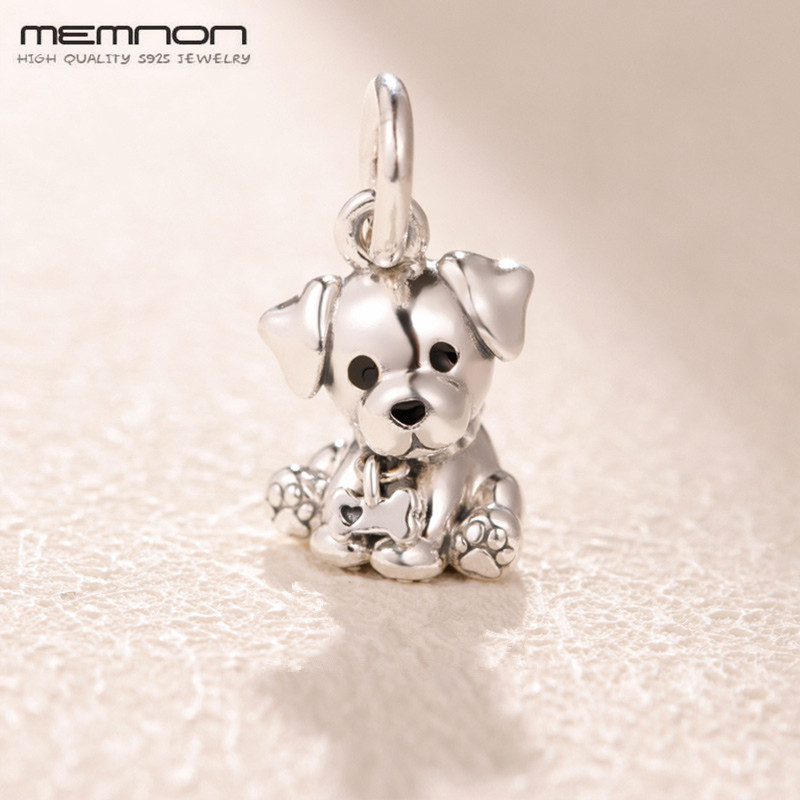 100% S925 dog floating charm Mothers Day 925 sterling silver Labrador Puppy Dangle fit beads bracelet necklace pendant DIY100% S925 dog floating charm Mothers Day 925 sterling silver Labrador Puppy Dangle fit beads bracelet necklace pendant DIY