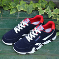 Fashion casual shoes male spots shoes breathable men 's board shoes Black/Red/Blue large size canvas shoes