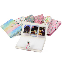Flamingo PU Photo Album 96 Pockets Fotoalbum Foto Album Scrapbook for Polaroid Fujifilm Instax Mini 9 8 3 Inch 35mm Film Baby new portable milligram digital scale 30g x 0 001g electronic scale diamond jewelry pocket scale home kitchen