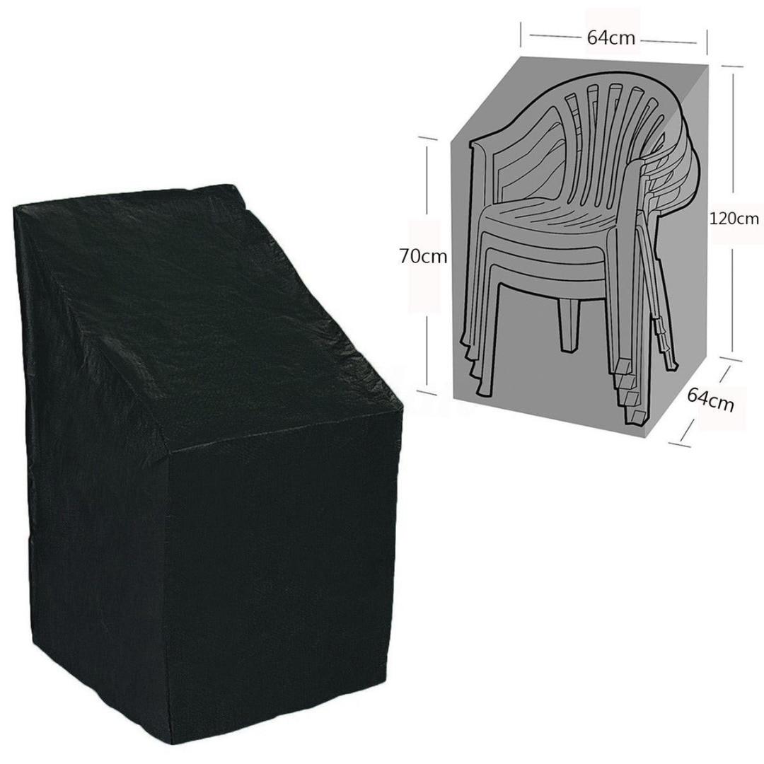 Heavy Duty Wasserdichte Stuhl Staub Regen Abdeckung Stuhlhussen Für Garten Terrasse Möbel Gepäckschutzhüllen