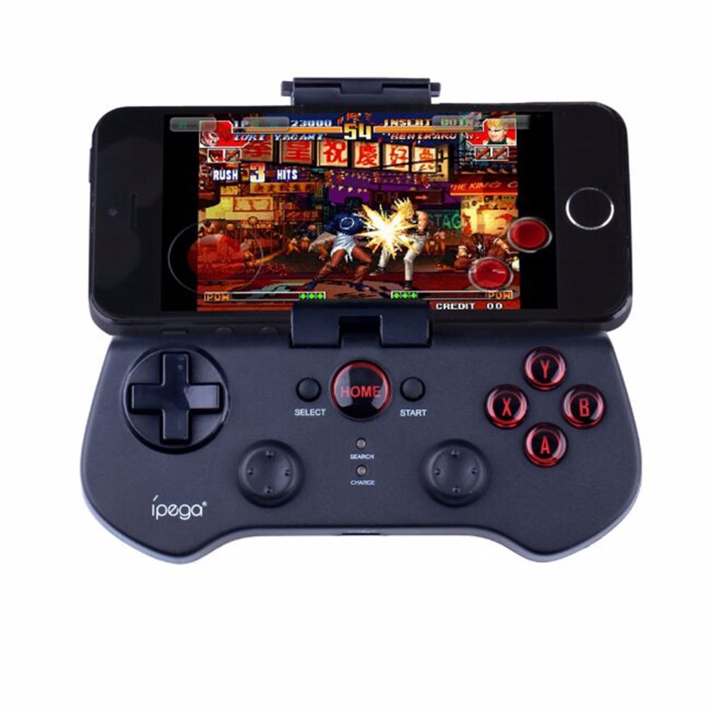 2018 new 3.0 Wireless Bluetooth Controller Gamepad for Ipad / Iphone / Smartphone / Android / iOS tablet PC black