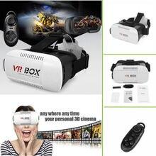 "G oogleกระดาษแข็งH Eadmount VRกล่อง2.0รุ่นVRแว่นตา3Dสำหรับ3.5 ""-6.0″มาร์ทโฟน+บลูทูธควบคุมระยะไกลที่มีแพคเกจ"