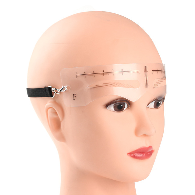 12 Pcs/Set Eyebrow Shaper Makeup Template Eyebrow Grooming Shaping Stencils Card Kit DIY Make Up Tool 4