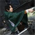 New Anime Attack on Titan Scouting Legion Allen Cosplay Jacket Cape Shingeki no Kyojin S-2XL Free Shipping