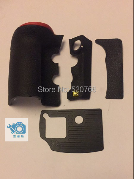 все цены на 100% NEW Original D810 4 PIECE FRONT/REAR/ GRIP RUBBER SET NEW REPAIR PARTS OEM + Tape For NIKO D810 онлайн