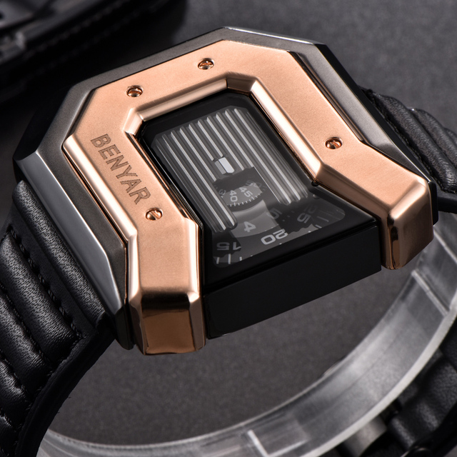 Men's Waterproof Irregular Shaped Wristwatches