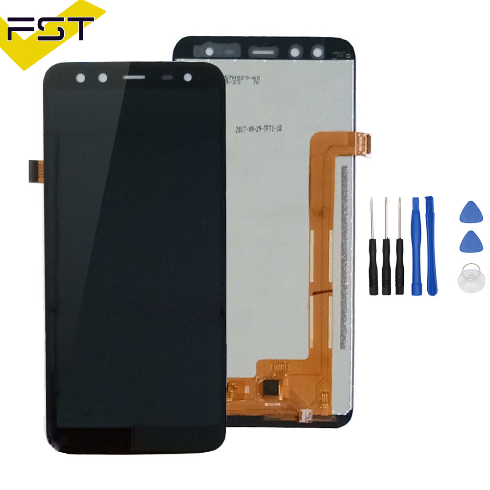 Lcd Screen For 5.7 inch BlackView S8 LCD Display+Touch Screen LCD Digitizer Glass Panel Replacement+Free Tools