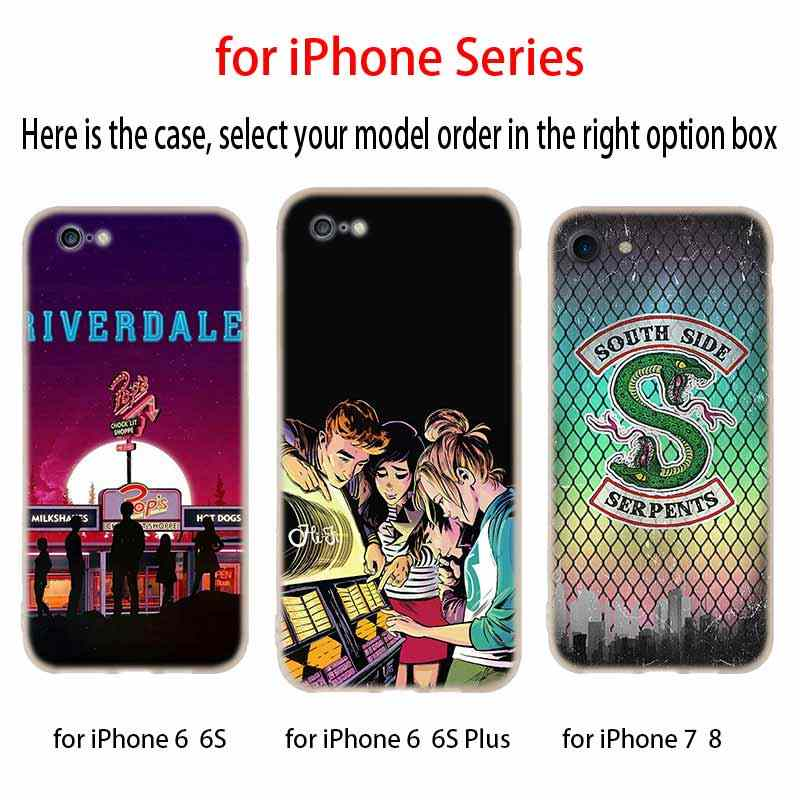 Cases Silicone soft Cover for iPhone 11 Pro X XS Max XR 6 6S 7 8 Plus 5 4S SE American TV Riverdale