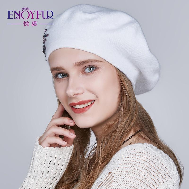 d596bc3176a31 ENJOYFUR-invierno-boina-sombreros-para-las-mujeres-de-punto-de -lana-caliente-de-color-sólido-de.jpg