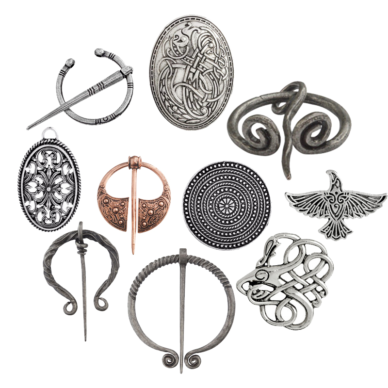 Viking Symbols strength pin and weapons that symbolize Representing history and culture brooch of honor for friend gift
