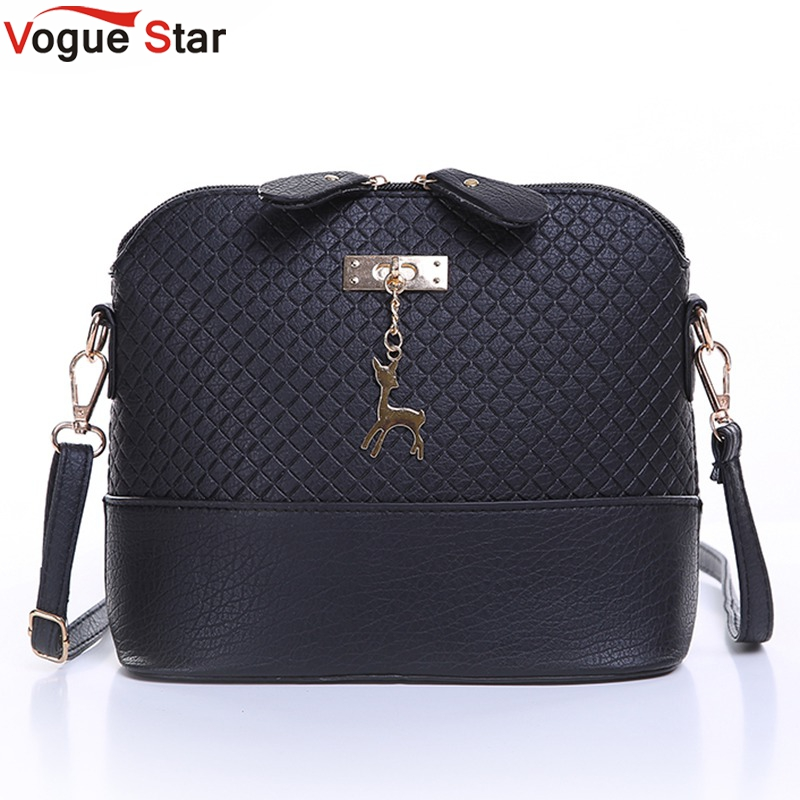Vogue Star HOT SALE! 2017 Women Messenger Bags Fashion Mini Bag With Deer Toy Shell Shape Bag Women Shoulder Bags  LS571