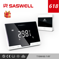 SASWELL WiFi Thermostat Temperature Controller for Electric floor Heating Water/Gas Boiler Thermoregulator weekly programmable