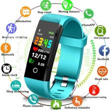 LIGE 2019 New Smart Bracelet Pedometer Sport Band Heart Rate Blood Pressure Monitor Fitness Tracker Watch Wristband