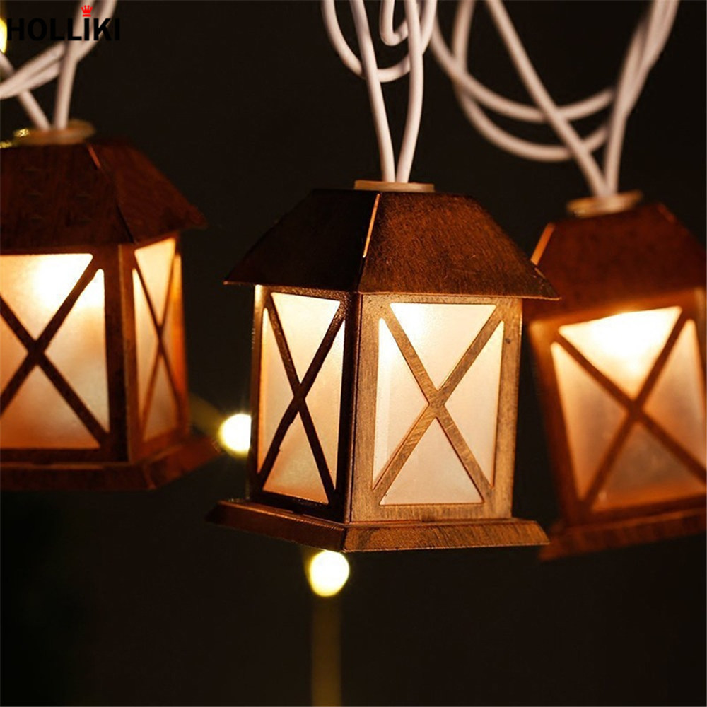 Buy 3m Led Romantic Wire Light String Lights Wiring In A House Vintage Metal Lanterns Lamp Battery Operated For Christmas Festival Decor From