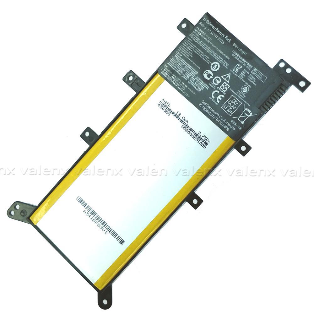 עופרות 7.5V 37WH C21N1347 חדש סוללה למחשב נייד ASUS X554L X555 X555L X555LA X555LD X555LN X555MA 2ICP4 / 63/134 C21N1347 (2)