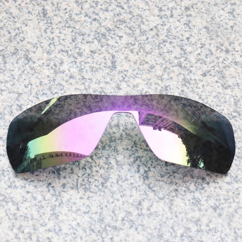 E.O.S Polarized Enhanced ReplacementLensesforOakleyOffshoot Sunglasses - Violet Purple Polarized Mirror