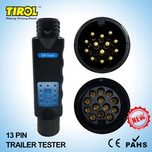TIROL 13 Pin Towing Trailer Car Caravan Tow Bar Light Circuit Tester Unit for Plug Socket  connection 12 N T23331b