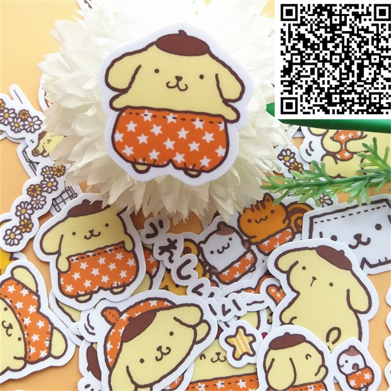 New 32 Pcs Little Sheep DIY Decal Mobile/PC Car Phone Self Adhesive Scrapbooking Stickers Car Sticker Wedding Decoration