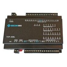 24DI giriş 6 yönlü DO röle çıkışı RJ45 Ethernet TCP modülü Modbus denetleyici