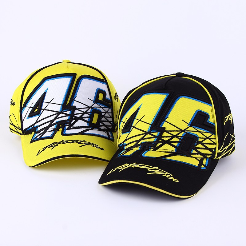 2019 New High Quality Snapback   cap   Brand   Baseball     Cap   Moto Gp 46 3D Embroidery Hat For Mens Women Boy Motorcycle   Cap