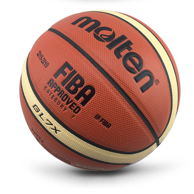 Novedad de 2018 llegada al aire libre tamaño interior 7/6/5 PU de cuero pelota de baloncesto canasta de entrenamiento pelota de baloncesto red + aguja de baloncesto