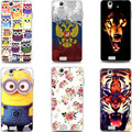 Soft Silicone phone Protective Case for Fly IQ4512 EVO Chic 4 Quad IQ 4512 TPU Back cover Etui Butterfly Rose Heart Jellyfish